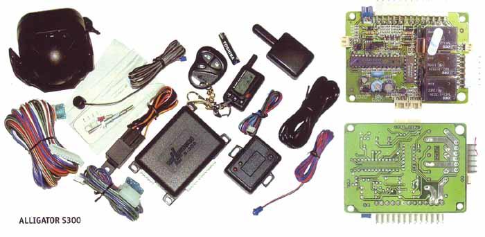 Схема сигнализации аллигатор s