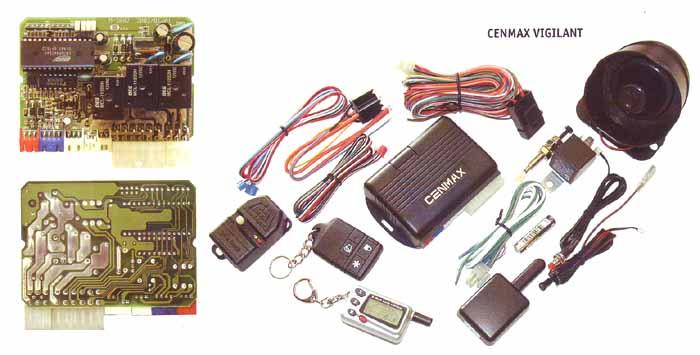 Cenmax сигнализация инструкция 433.92 Mhz - фото 6